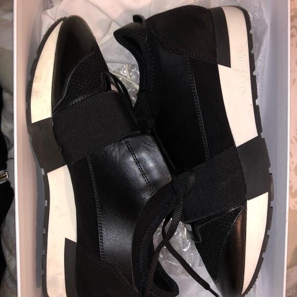 Balenciaga Race Sneakers Black